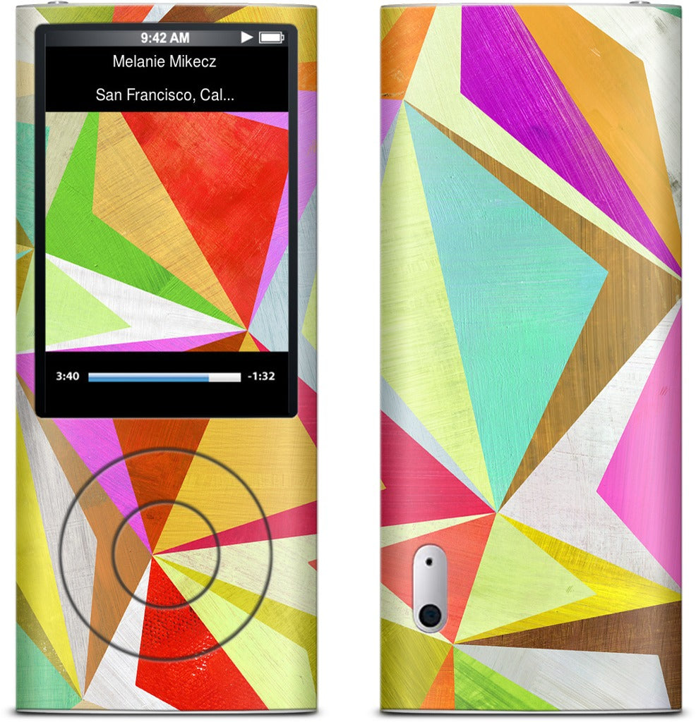 Diamonds iPod Skin