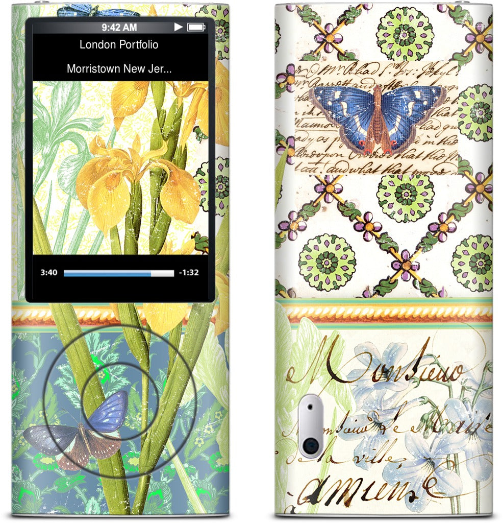 Gillian Fullard : Iris Collage 1859 iPod Skin