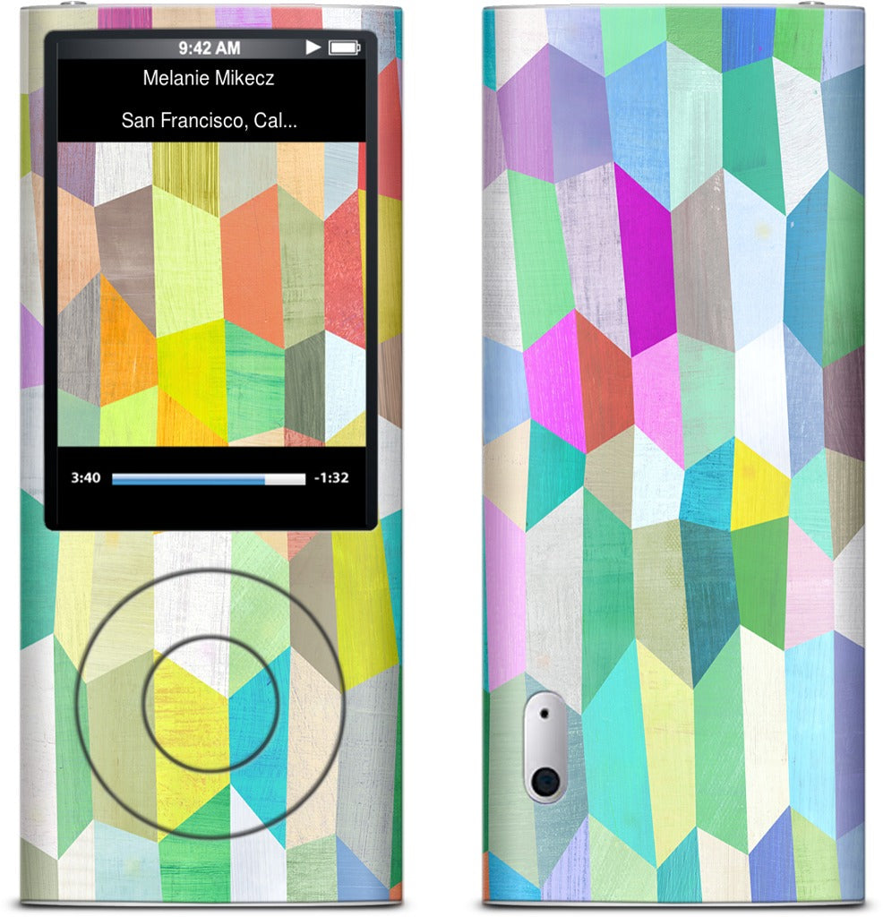 Trapezoid Love iPod Skin
