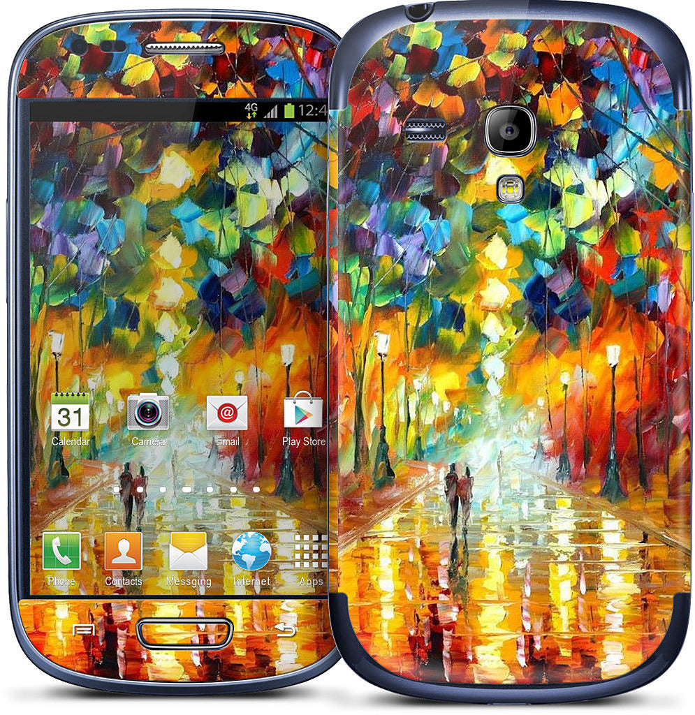 FAREWELL TO ANGER by Leonid Afremov Samsung Skin