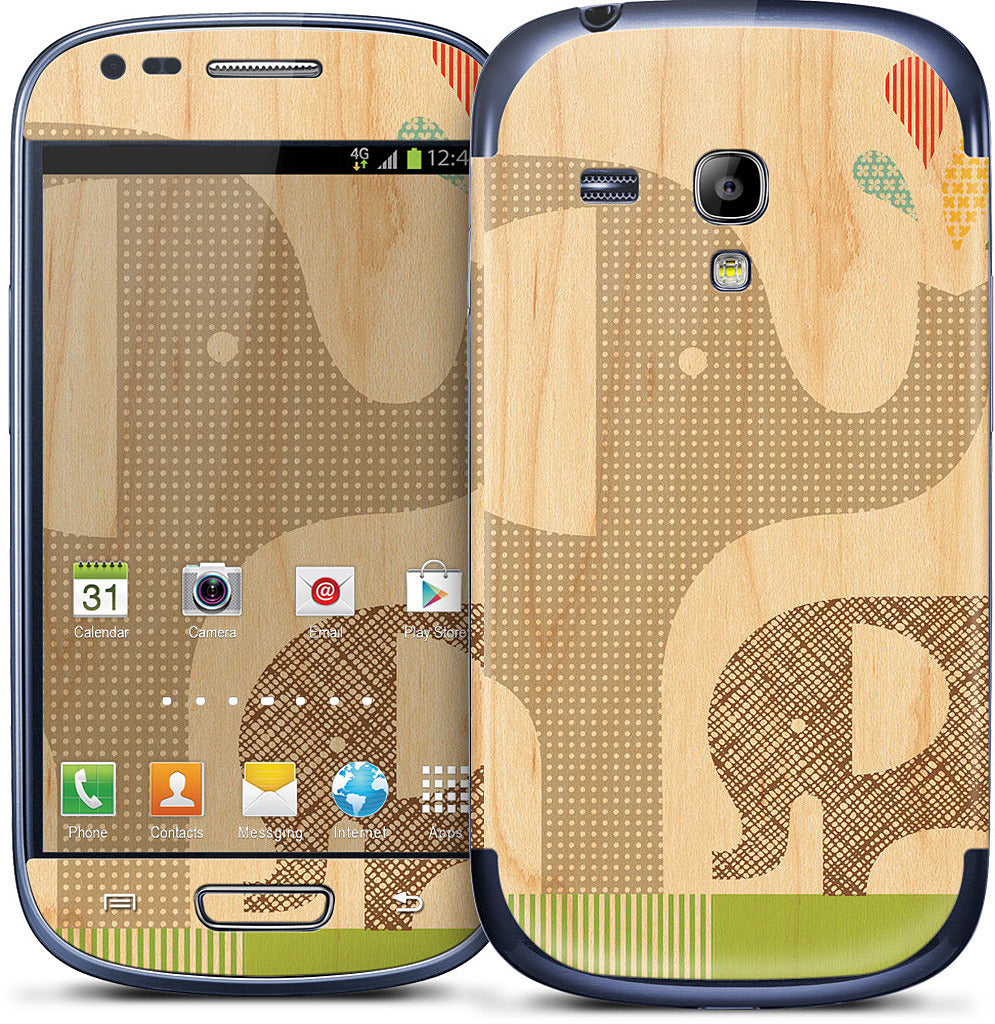 Elephant with Calf Samsung Skin