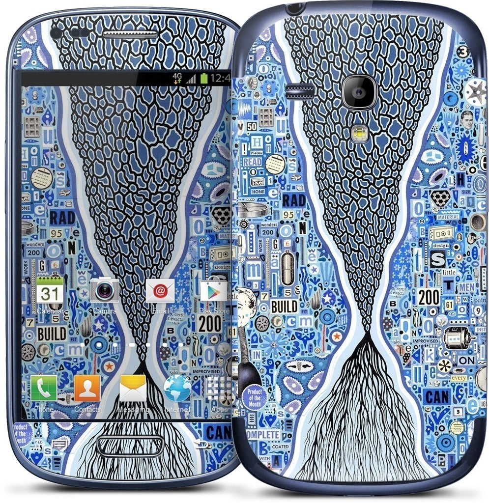 The Blue Thread Samsung Skin
