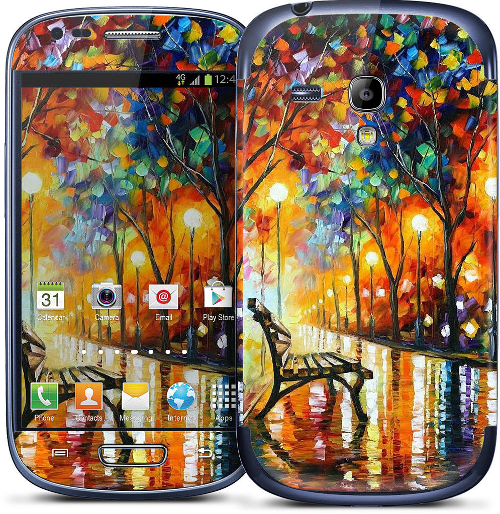 THE LONELINESS OF AUTUMN by Leonid Afremov Samsung Skin