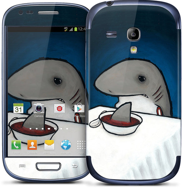 You Are What You Eat Shark Fin Samsung Skin