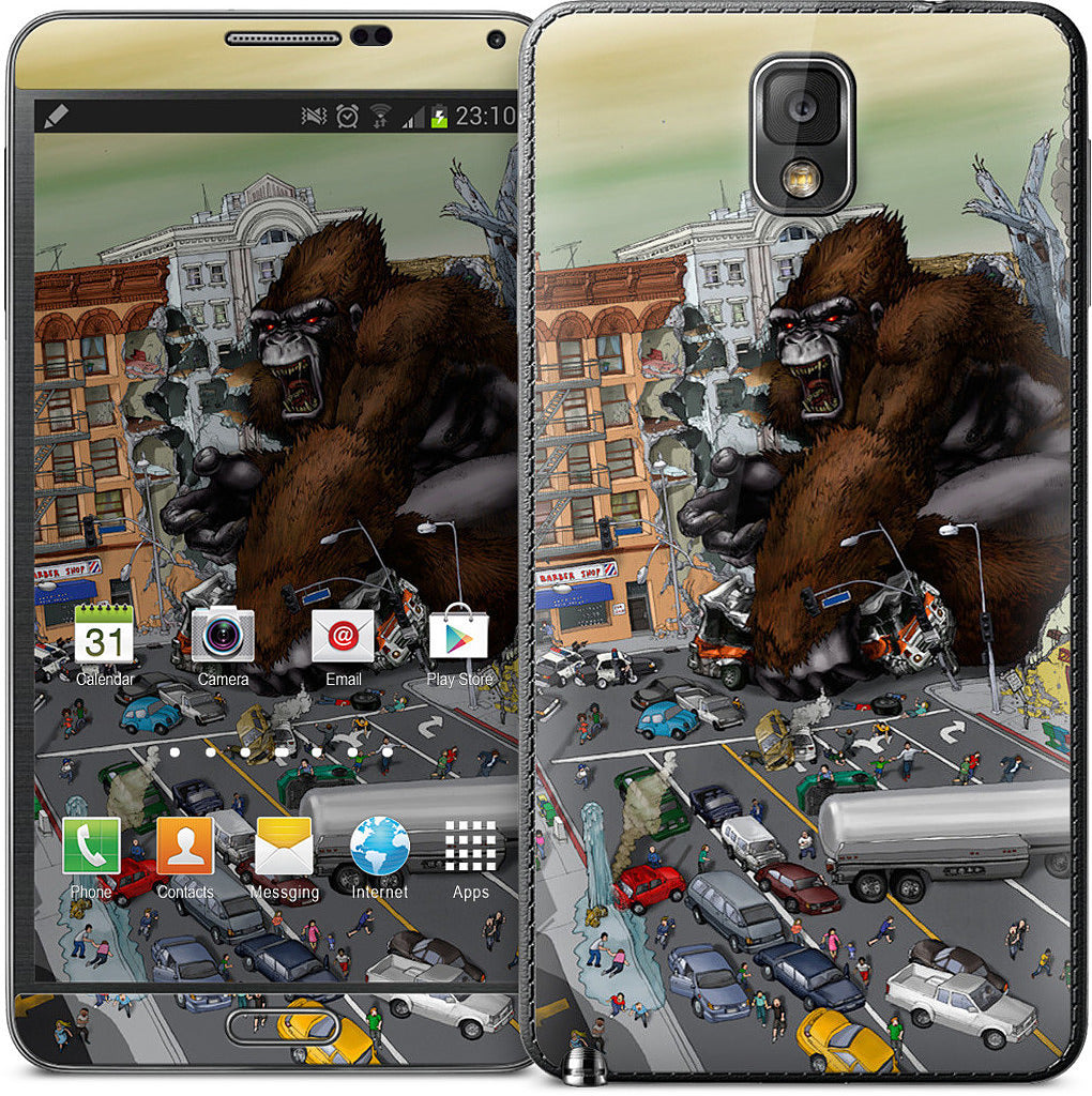 War Of The Monsters Samsung Skin