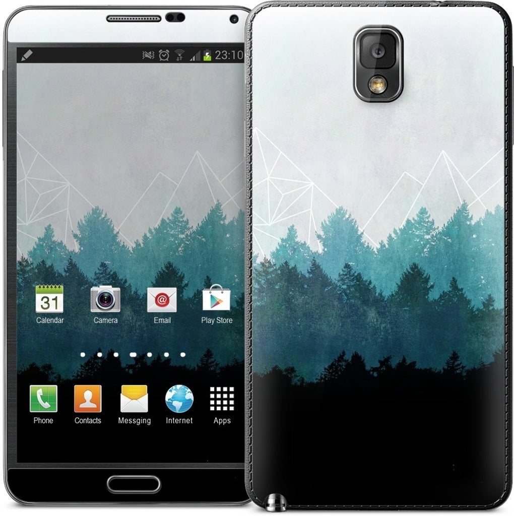 Woods Abstract Samsung Skin