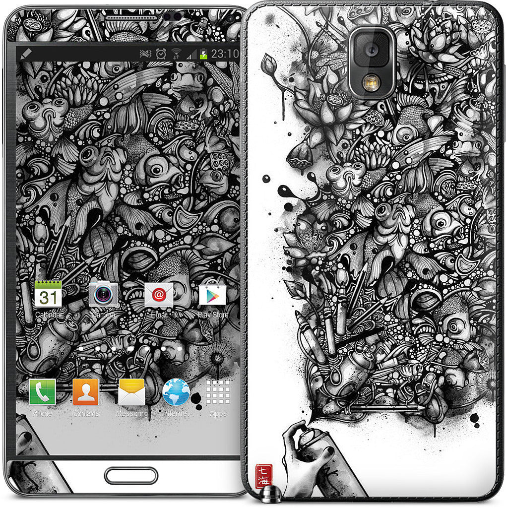 Ink Pond Samsung Skin