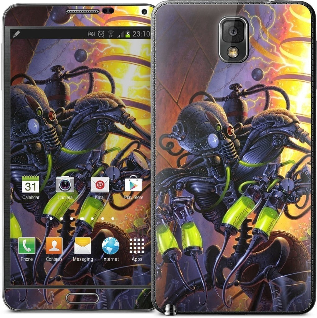 It's Alive! Samsung Skin