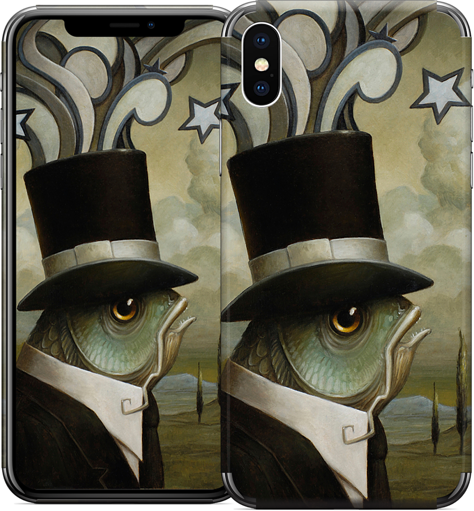 The Stranger iPhone Skin