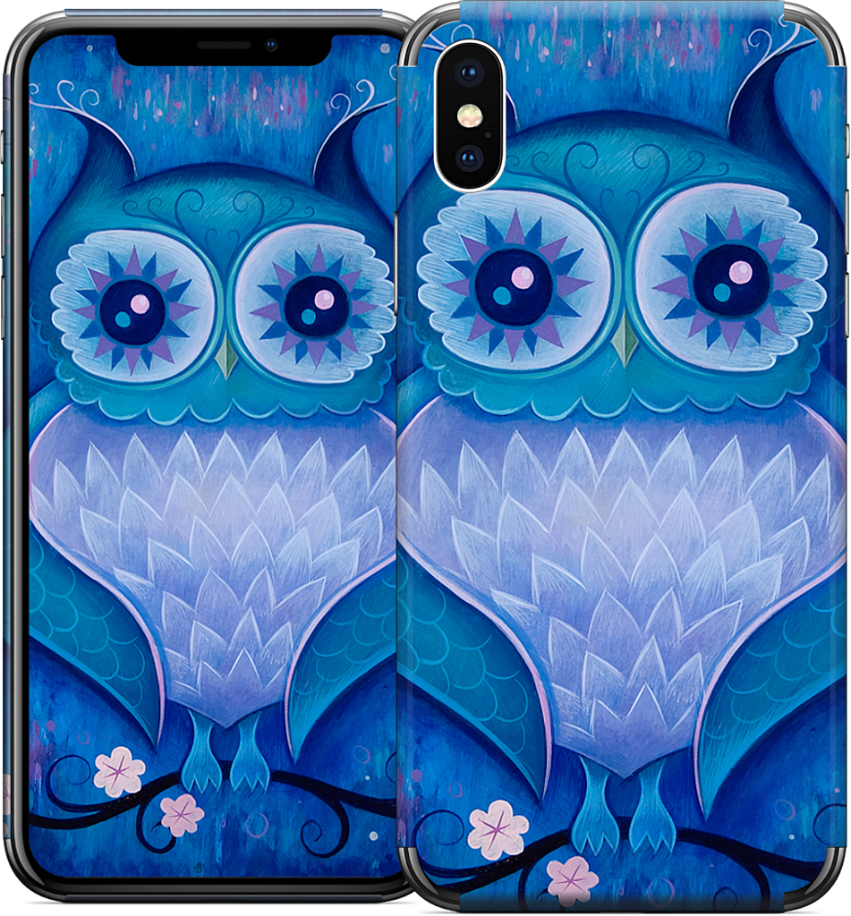 Night Owl iPhone Skin
