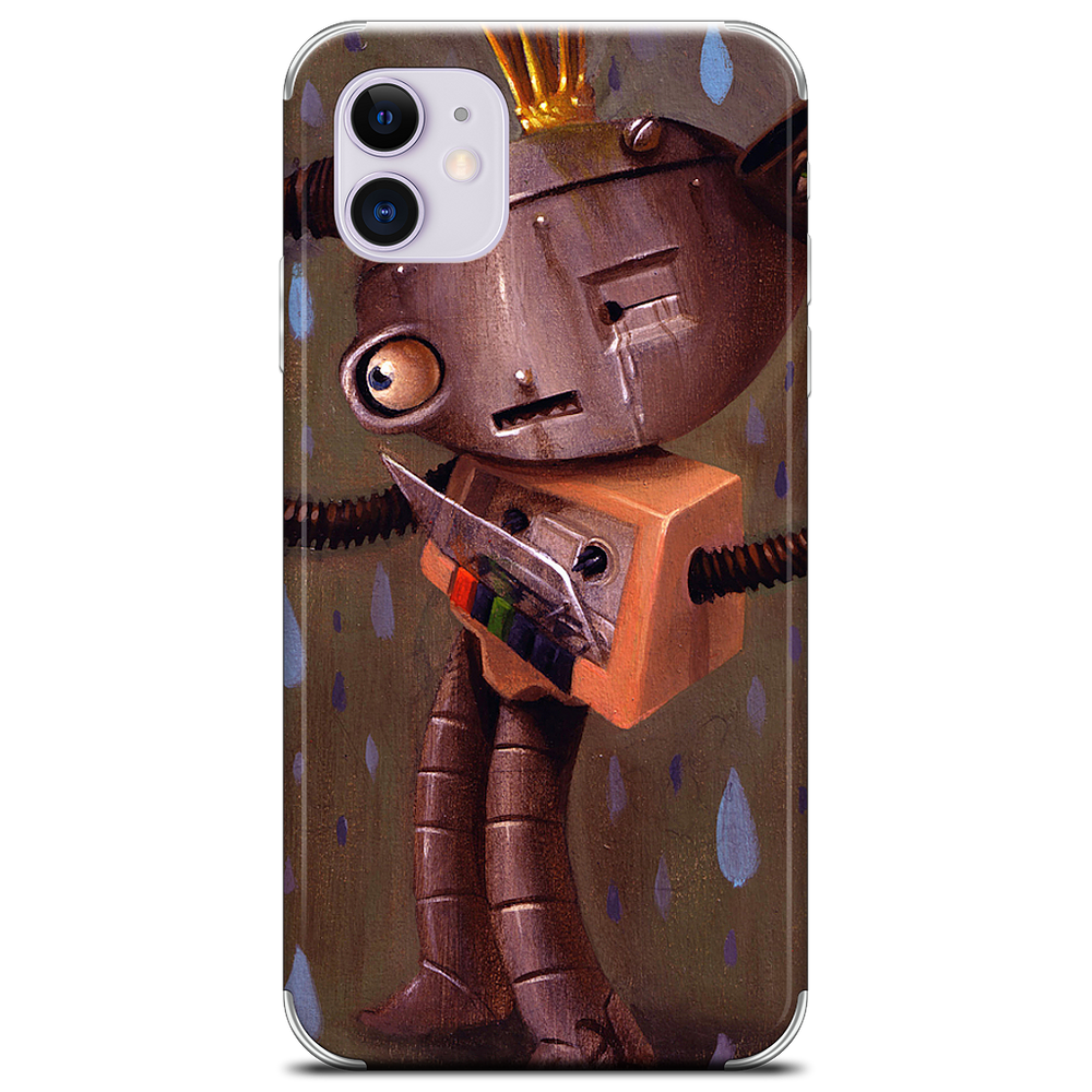 Cry Bot iPhone Skin