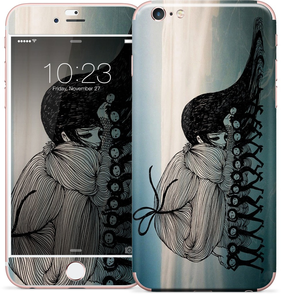 Body Surf iPhone Skin