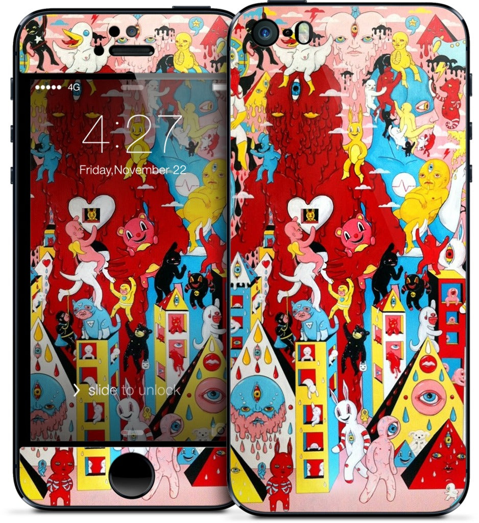 No Evil iPhone Skin