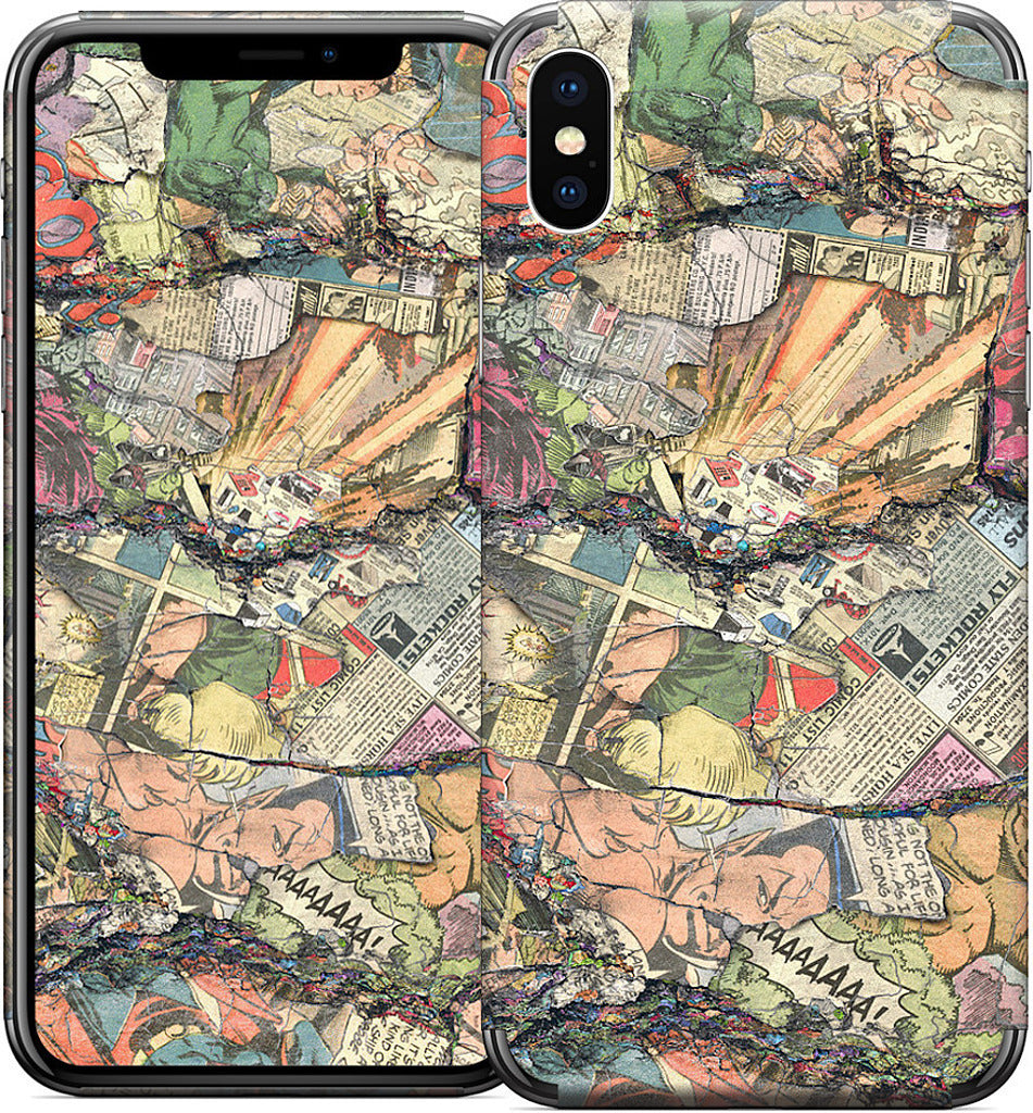 Blasts From The Past iPhone Skin