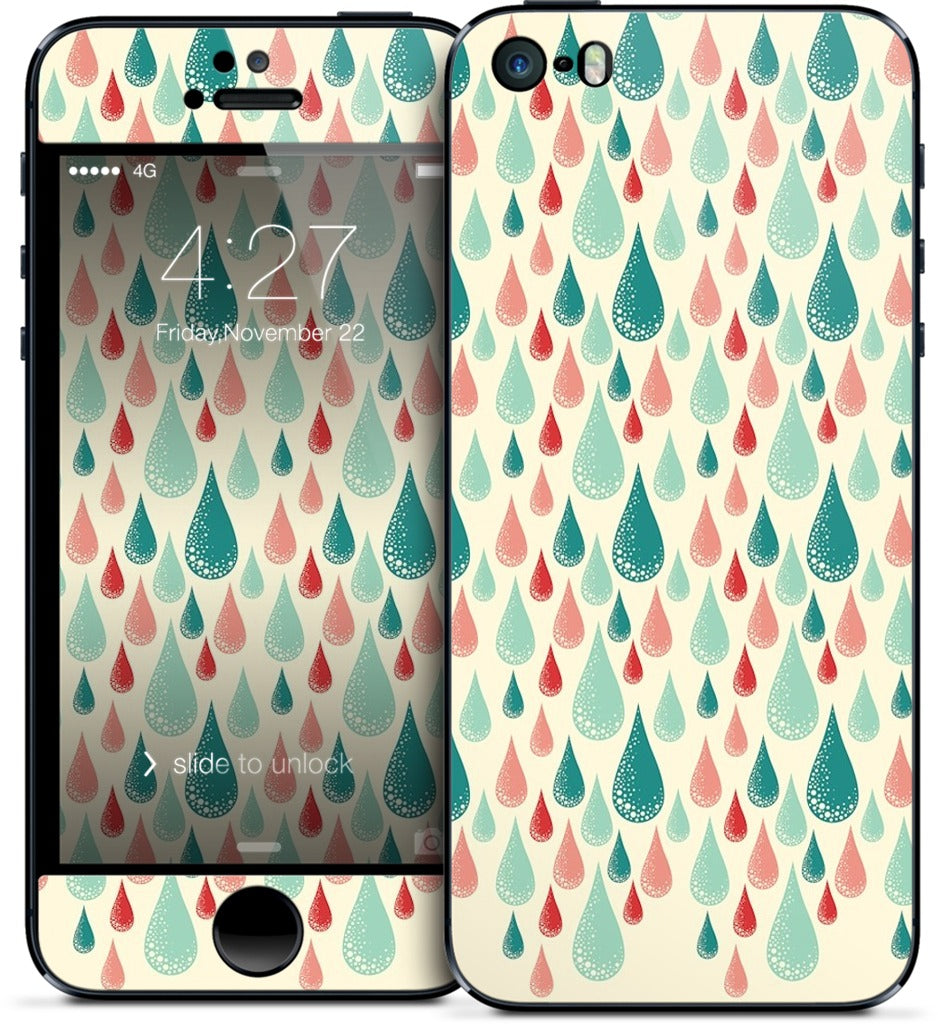 Rain Drops iPhone Skin