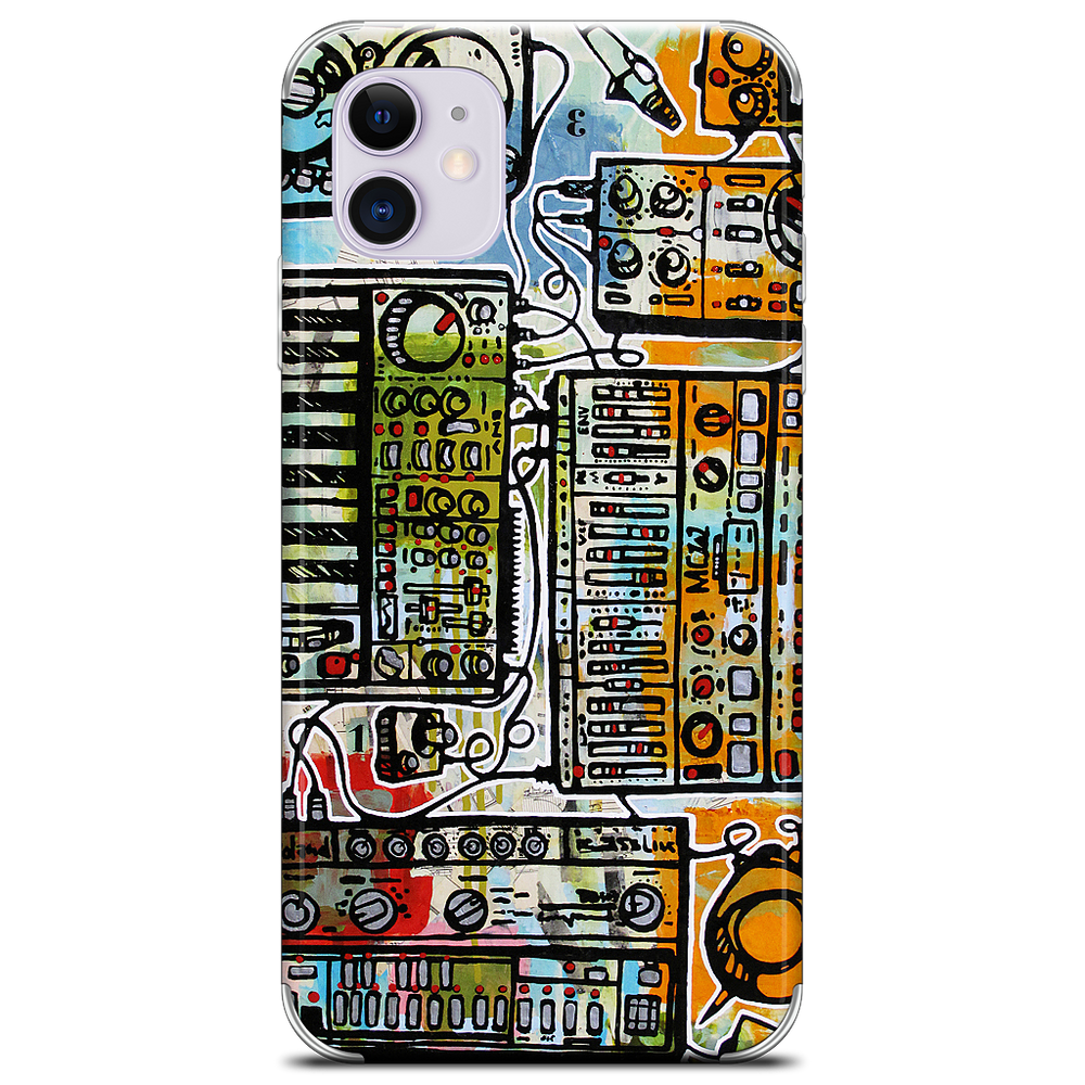 Control Voltages iPhone Skin