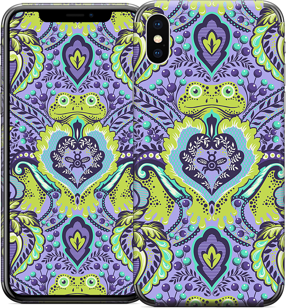 Frog Prince Orchid iPhone Skin