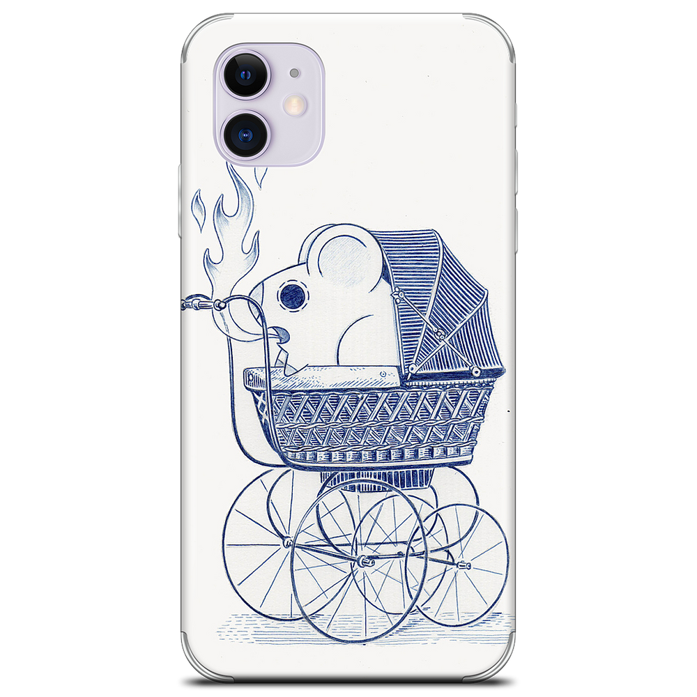 Hell on Wheels iPhone Skin
