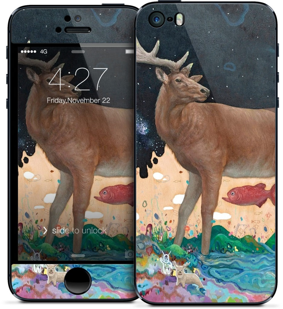 A Relieved Deer iPhone Skin