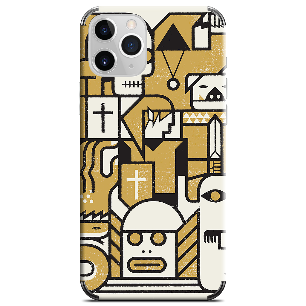 Enemies iPhone Skin