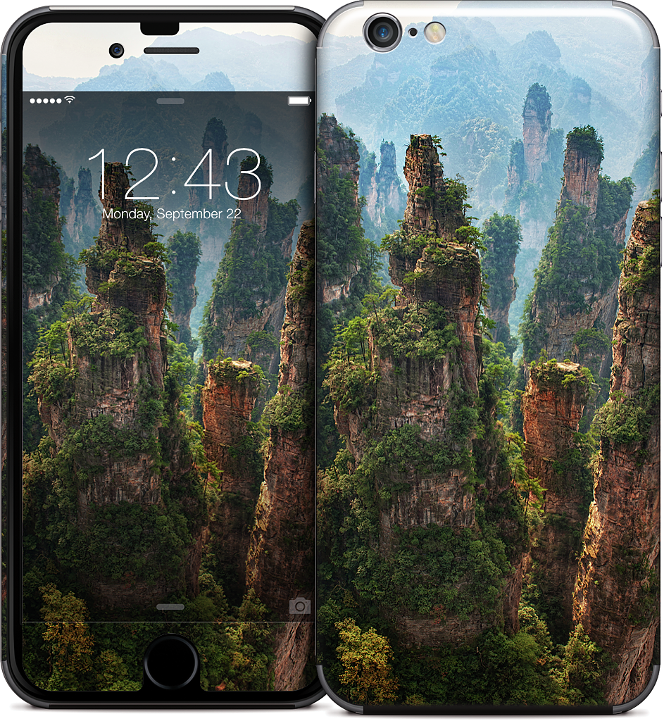 The Spires iPhone Skin