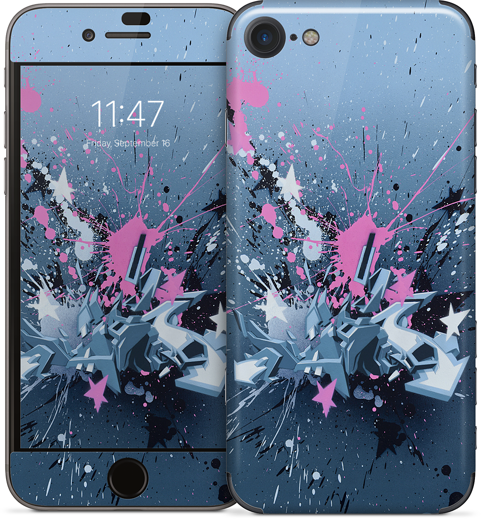Fancy Explosion iPhone Skin