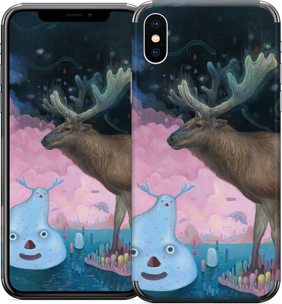 A Believer on the Surface iPhone Skin