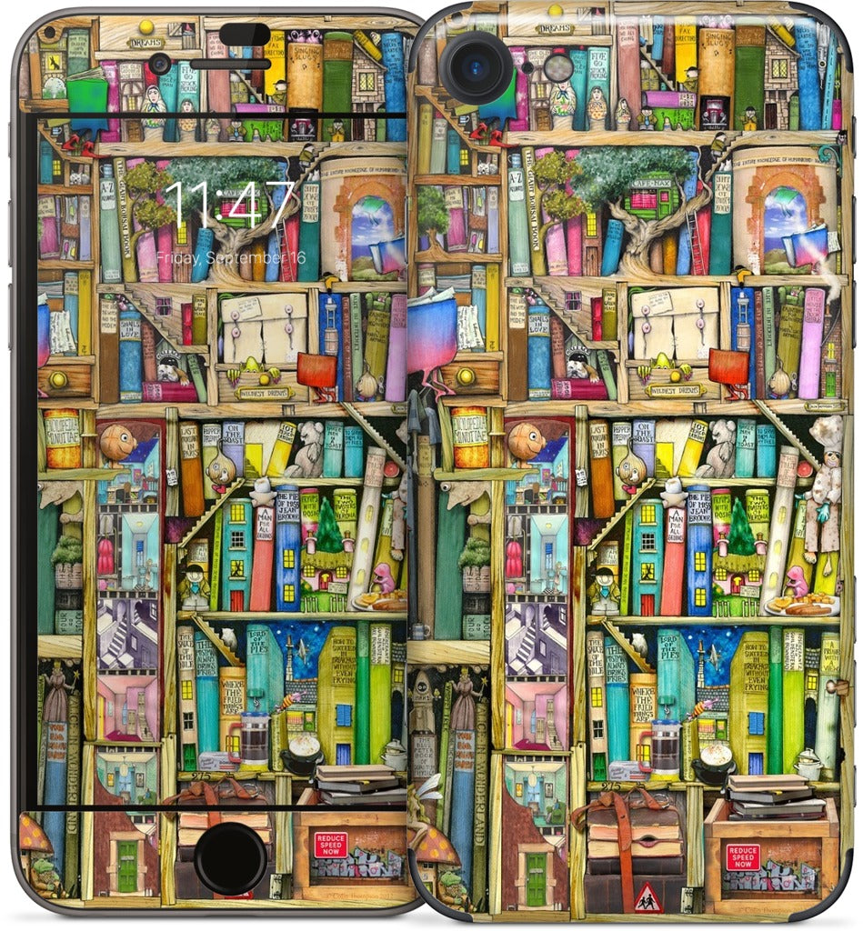 Bookshelf 2c iPhone Skin