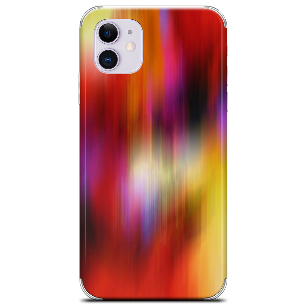 Color In Motion 1 iPhone Skin