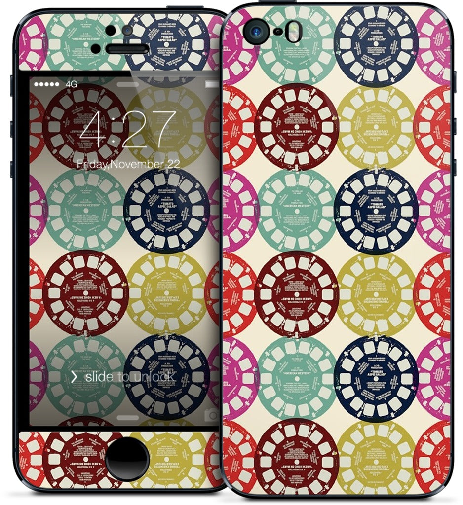 Viewfinder Reels iPhone Skin