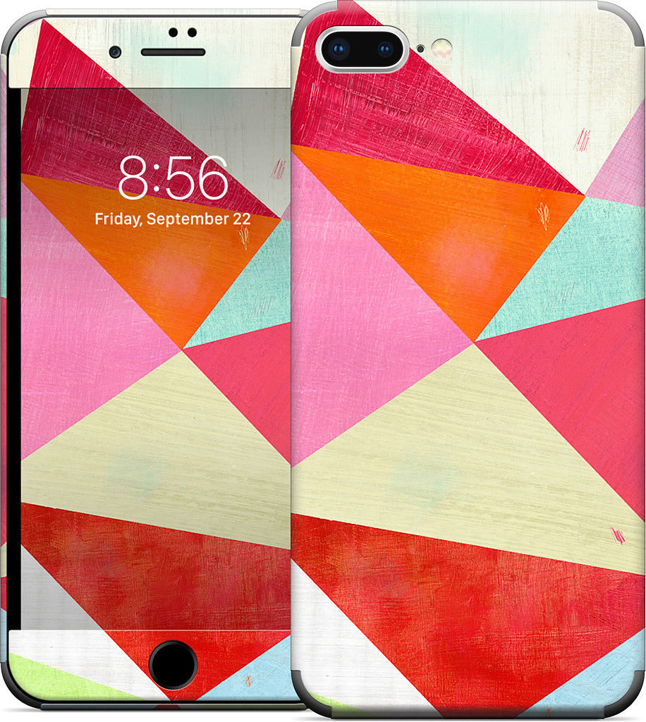Pink Triangle iPhone Skin