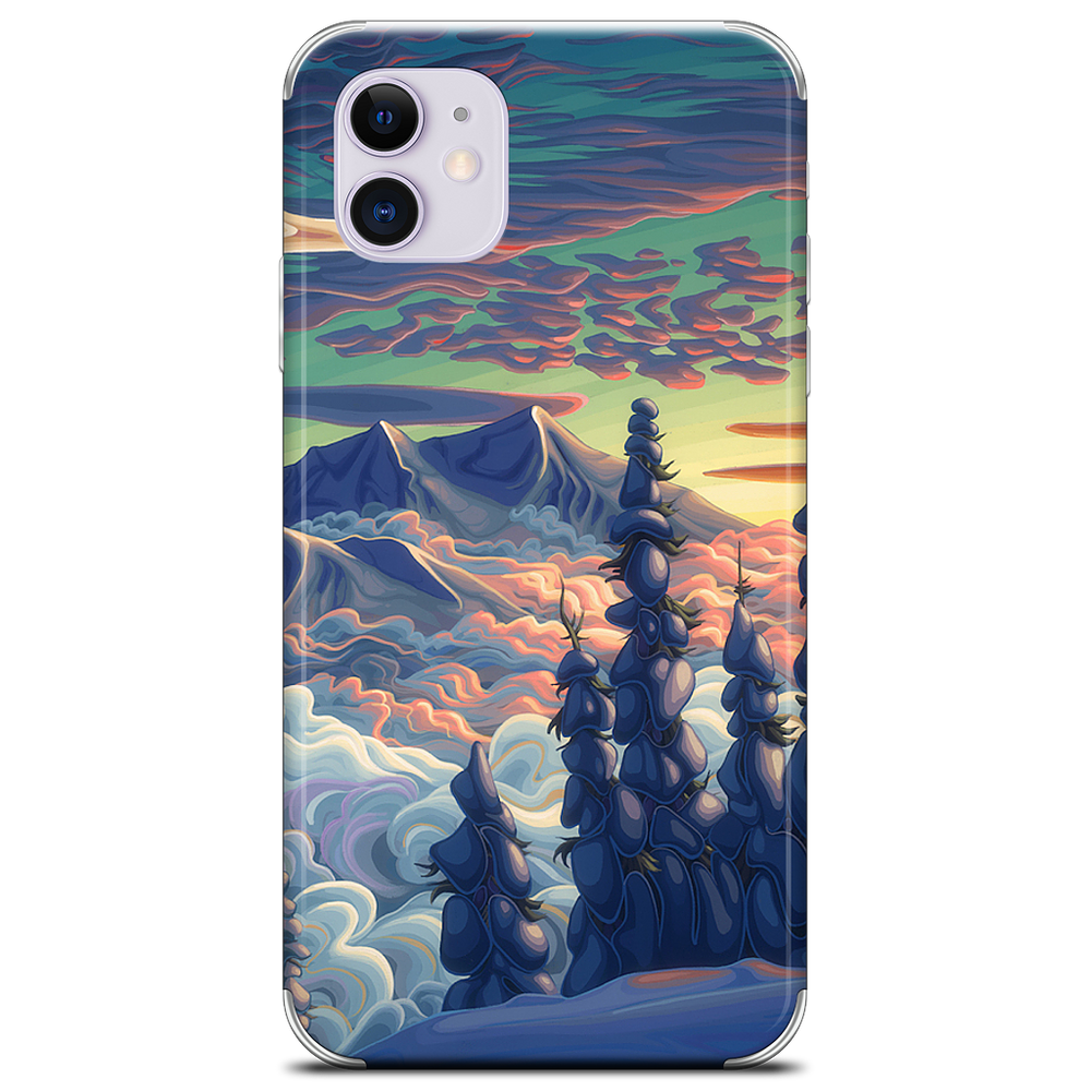 Mountains In My Mind iPhone Skin