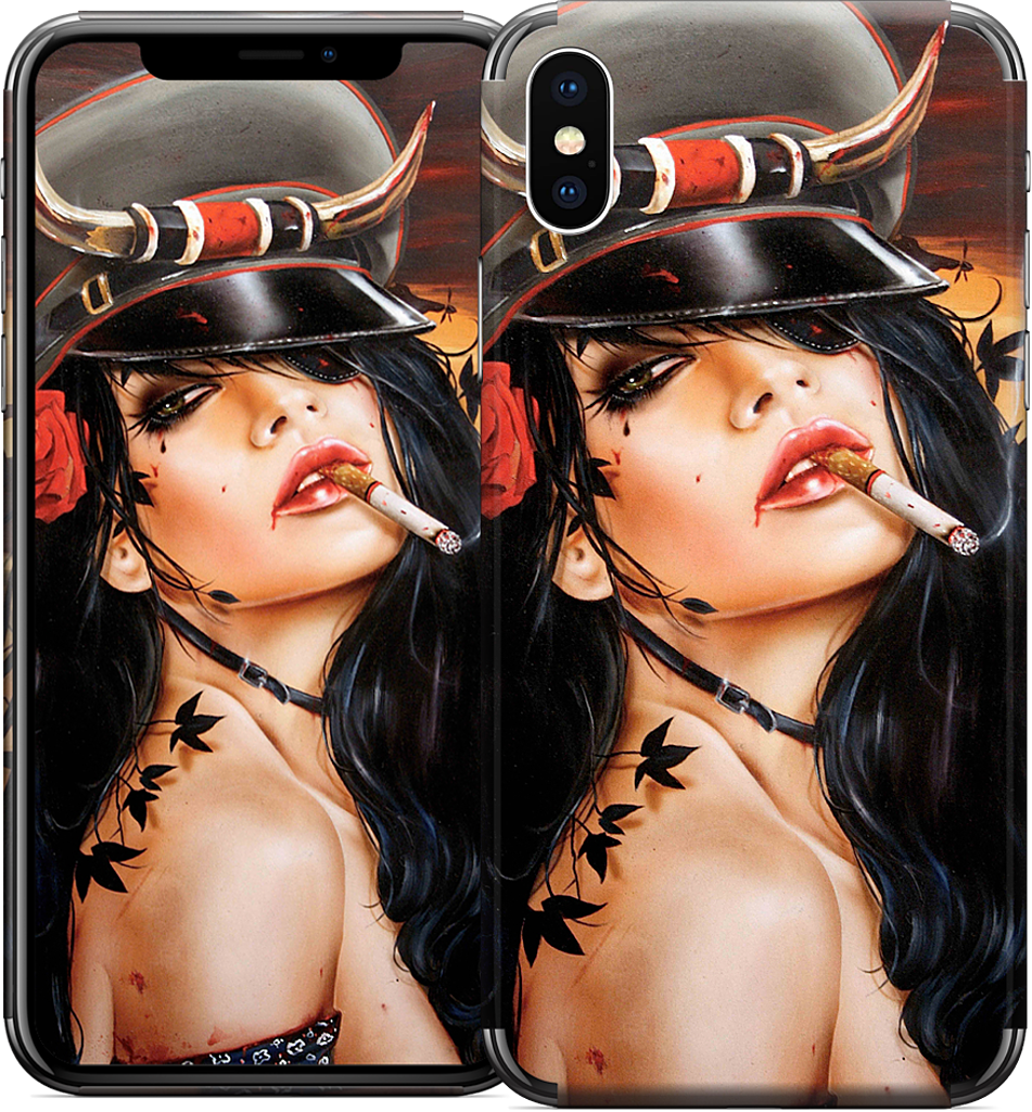 Captain Howdy iPhone Skin