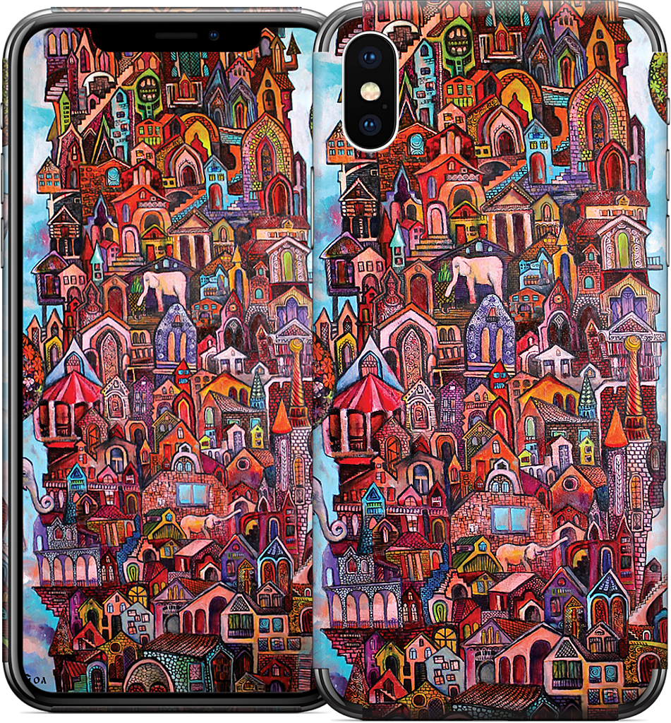 """No Name City"" iPhone Skin"