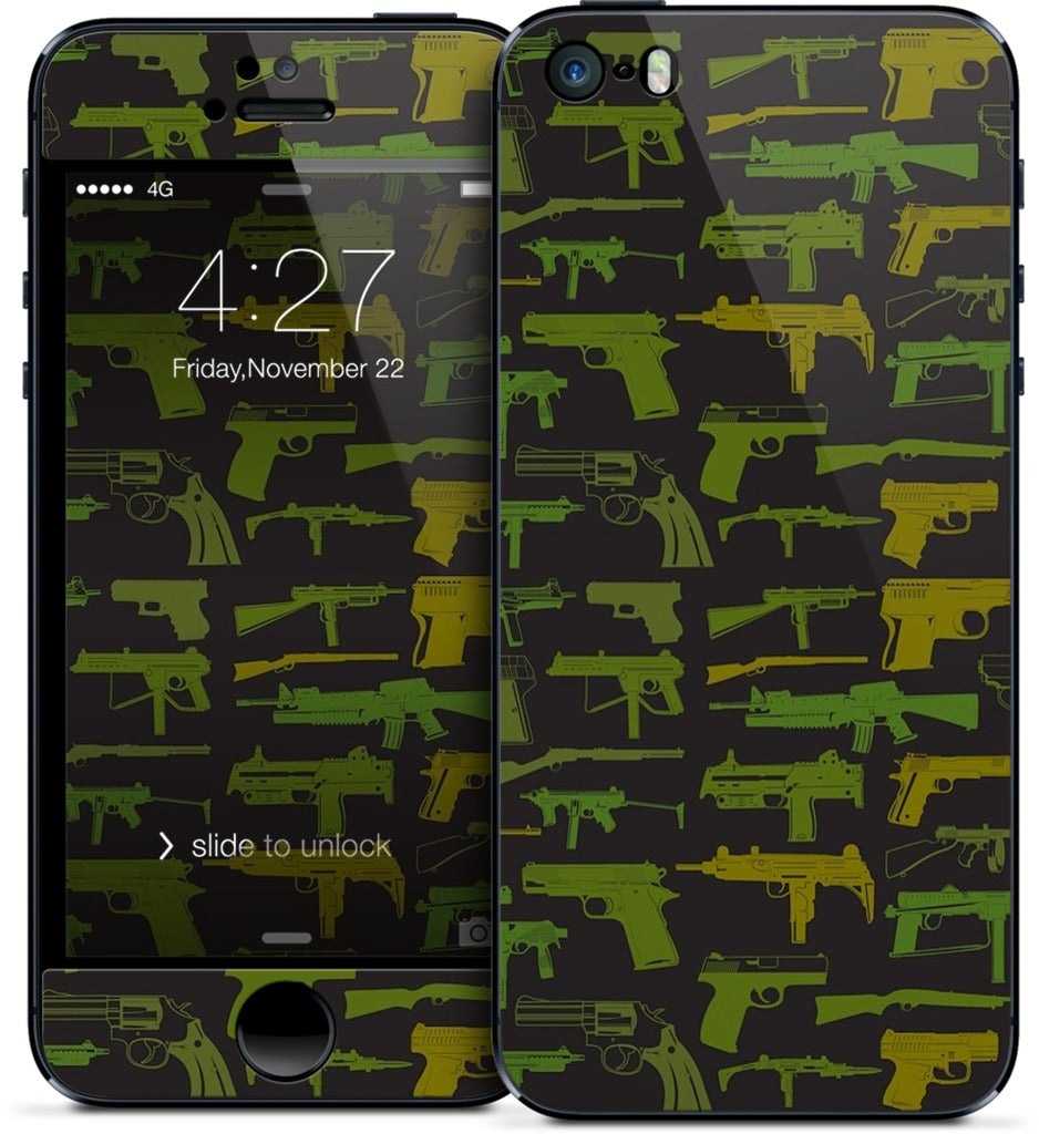 Guns iPhone Skin