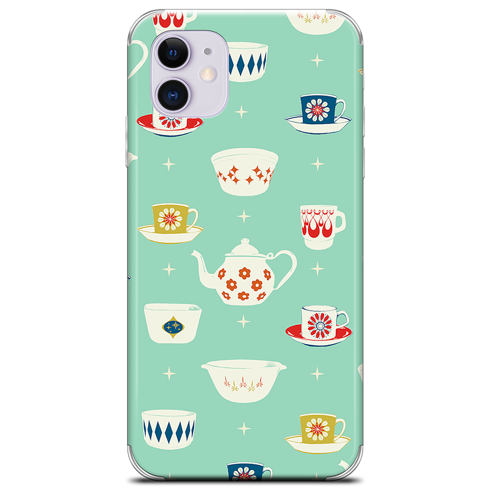 Happy Dishes iPhone Skin