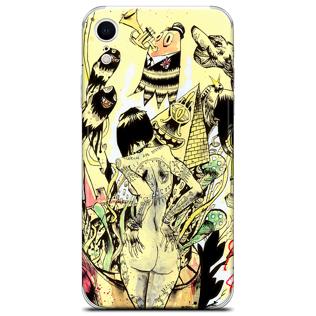 Search & Destroy iPhone Skin