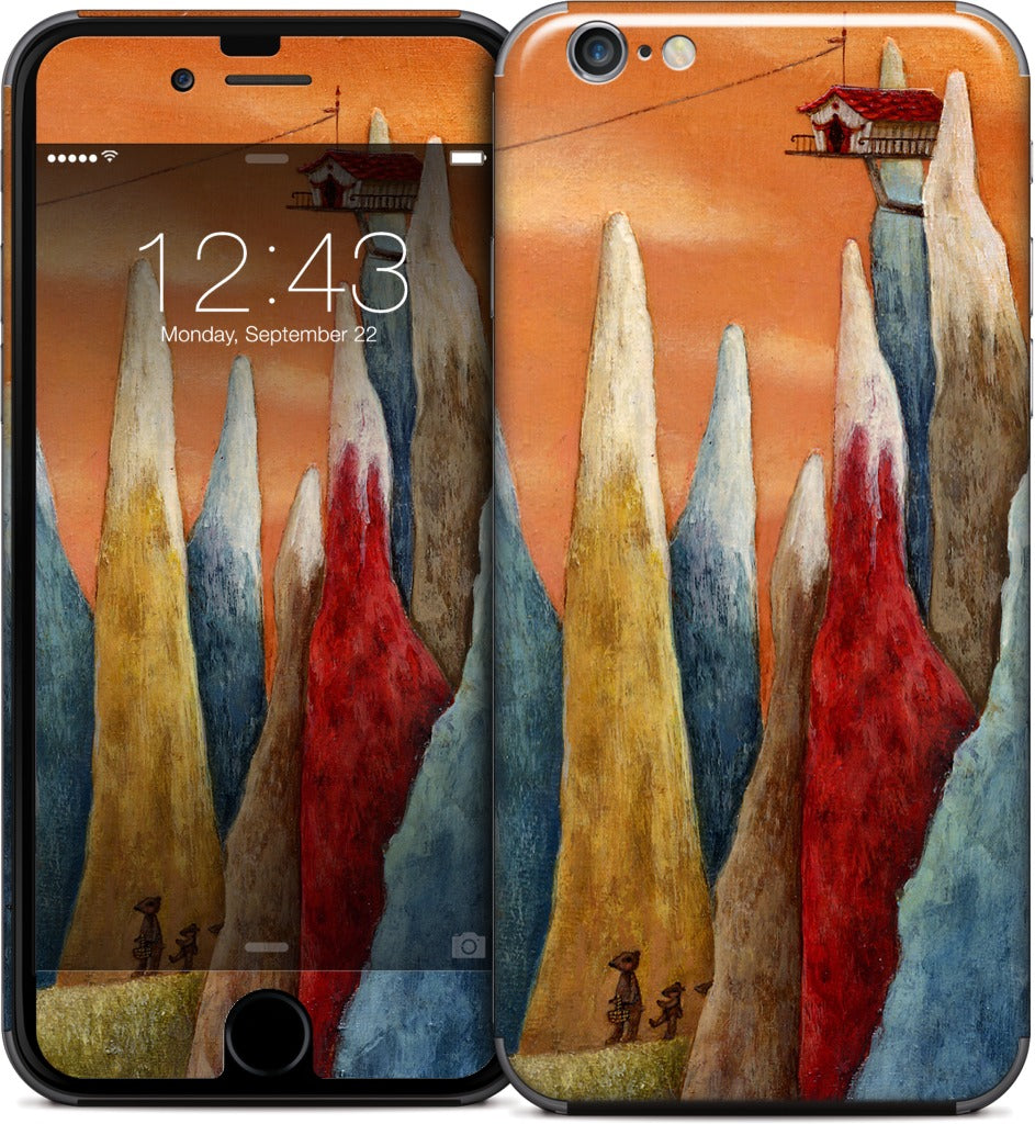 Lift iPhone Skin