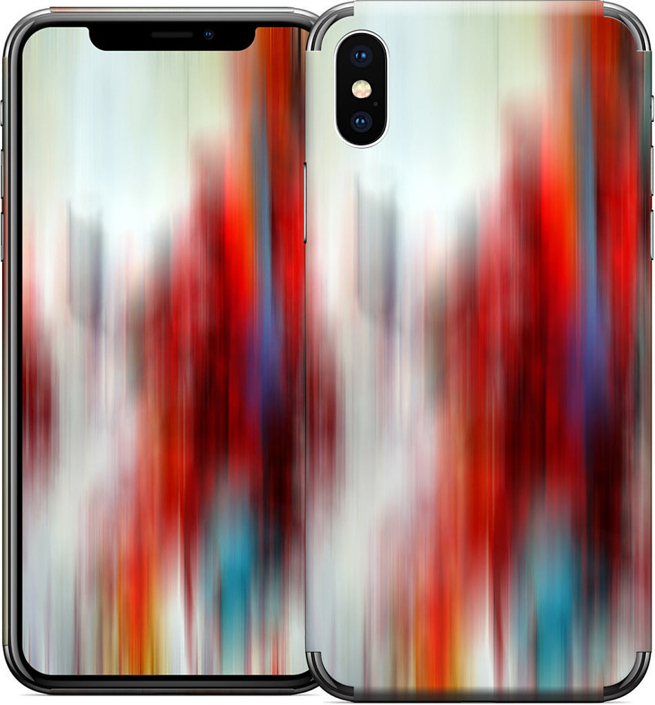 Color In Motion 3 iPhone Skin