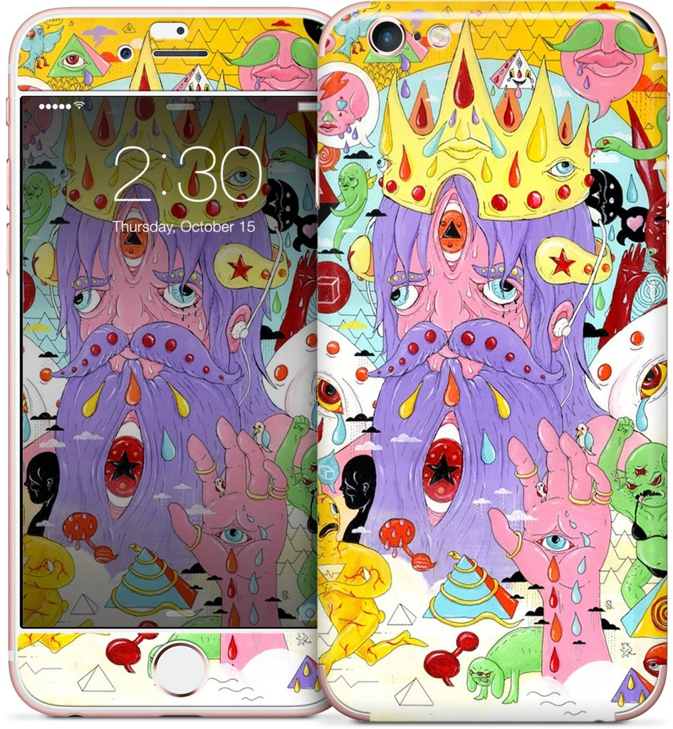 Old Kid Crashes The Party iPhone Skin