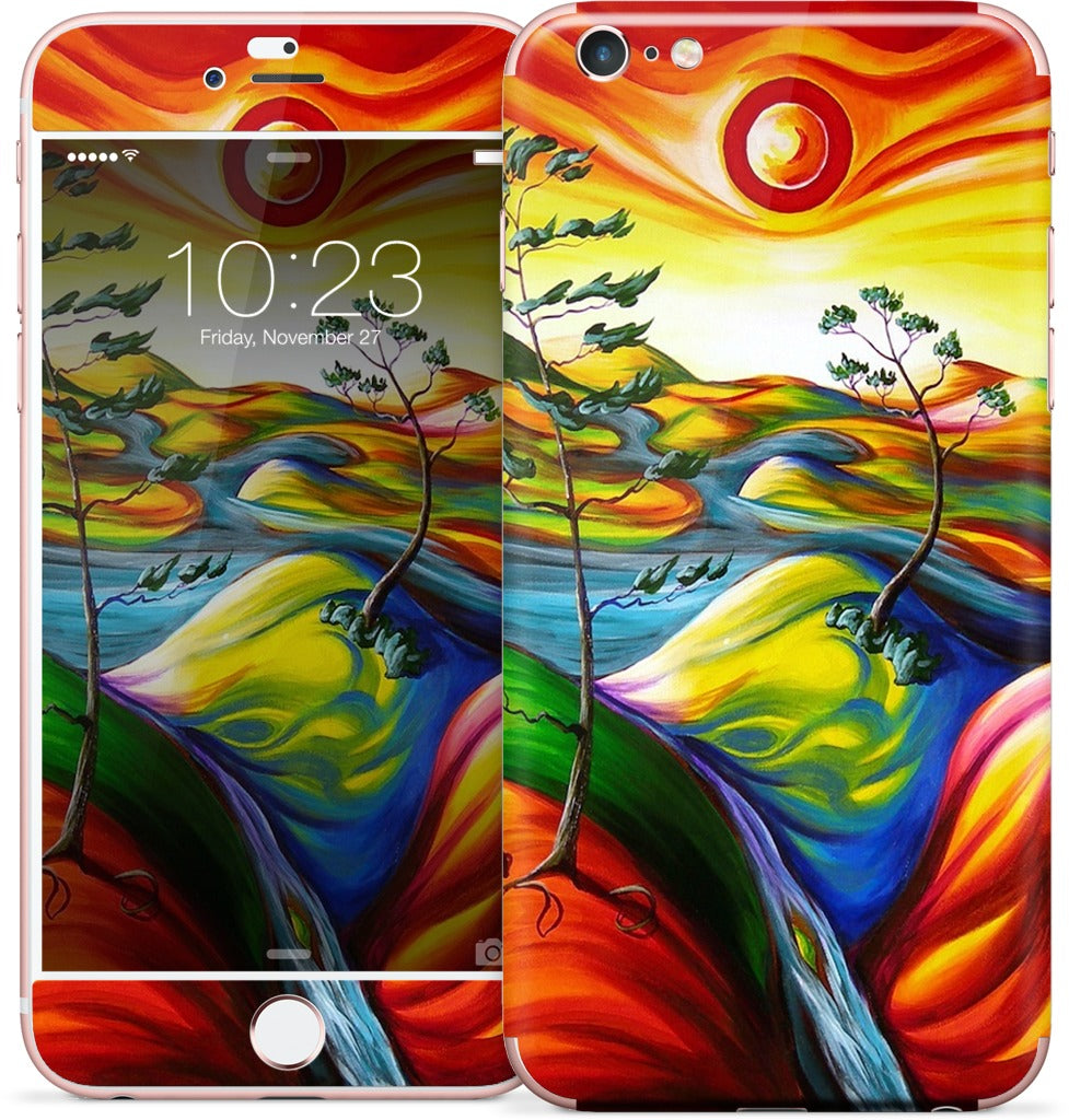 Summer Oasis iPhone Skin