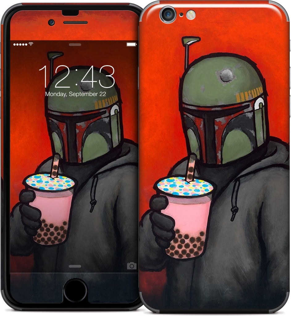 Boba iPhone Skin