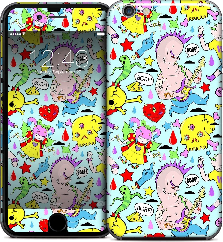 Punk Pattern iPhone Skin