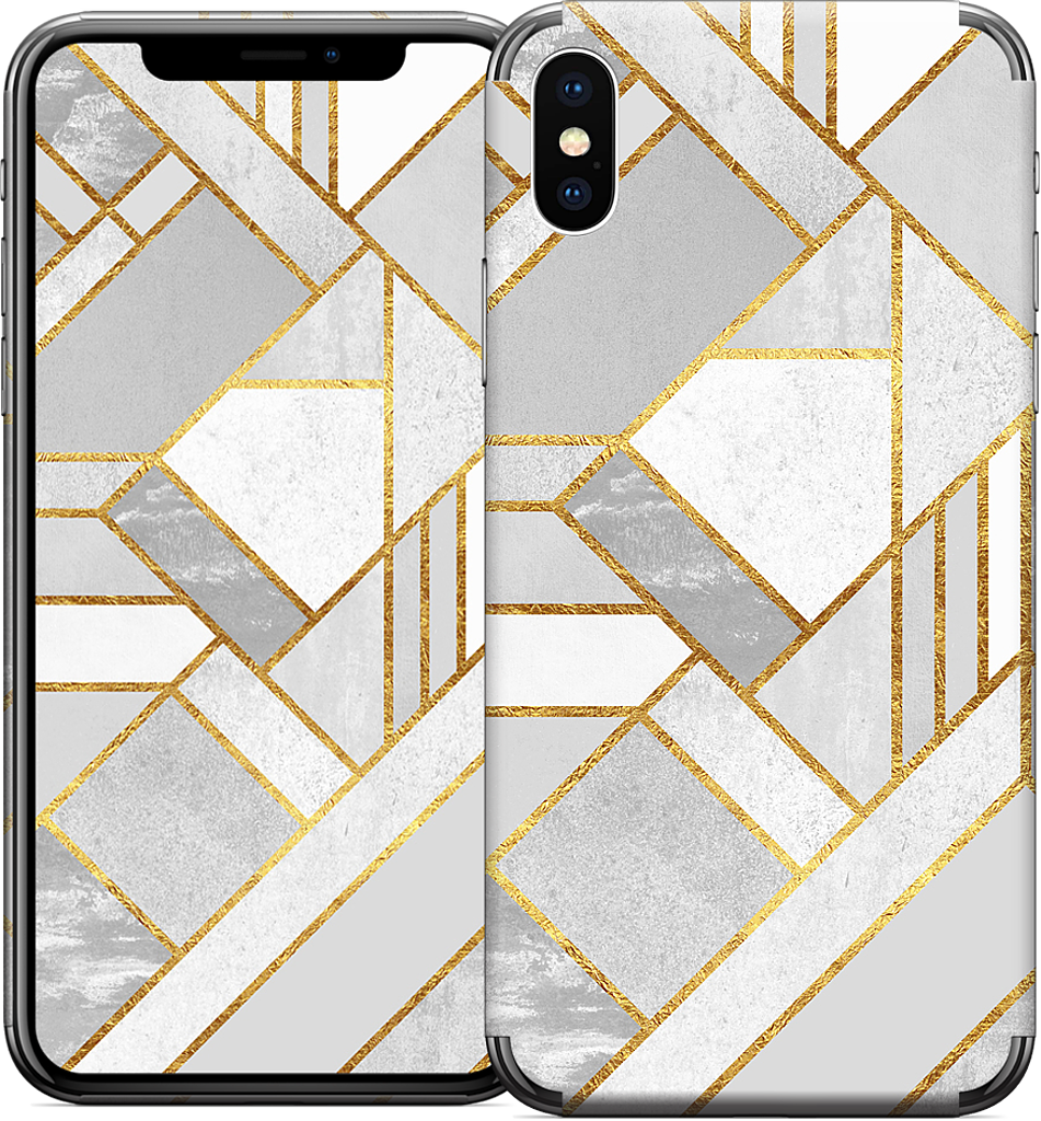 Gold City iPhone Skin
