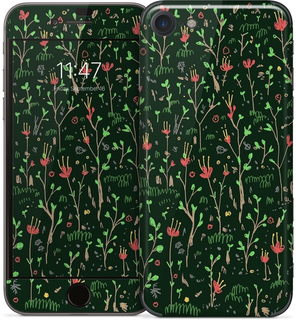 Woodland Floor iPhone Skin