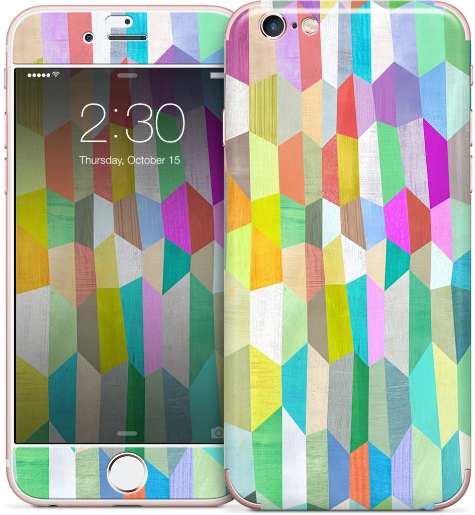 Trapezoid Love iPhone Skin