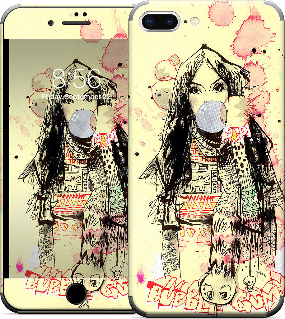 Bubble Gum Gangsters iPhone Skin