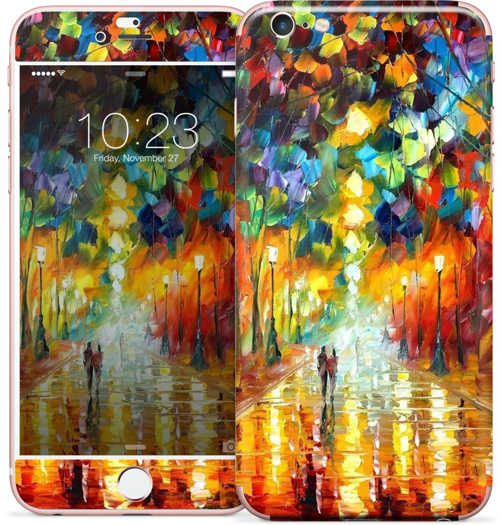 FAREWELL TO ANGER by Leonid Afremov iPhone Skin