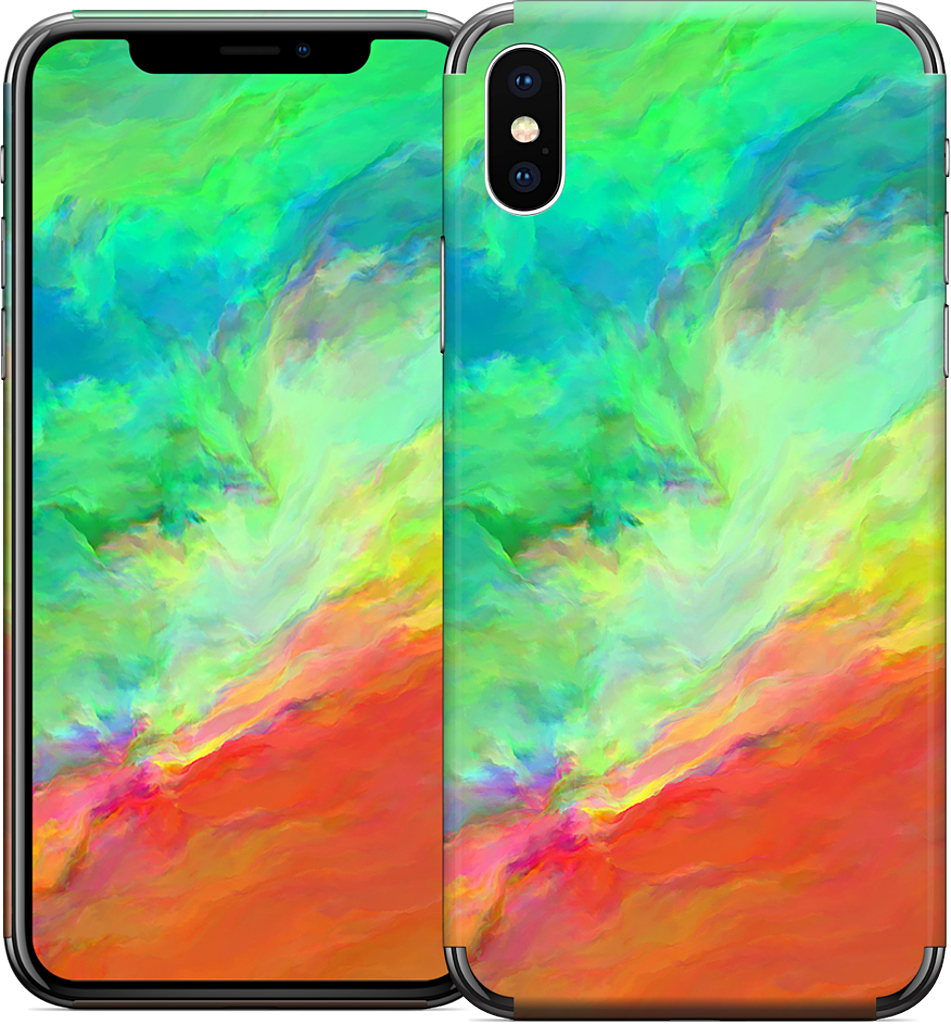 change is life iPhone Skin