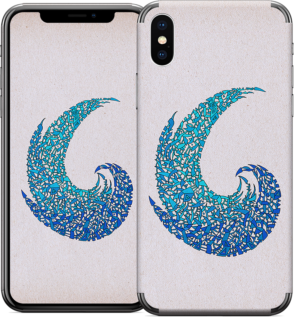 - new wave - iPhone Skin